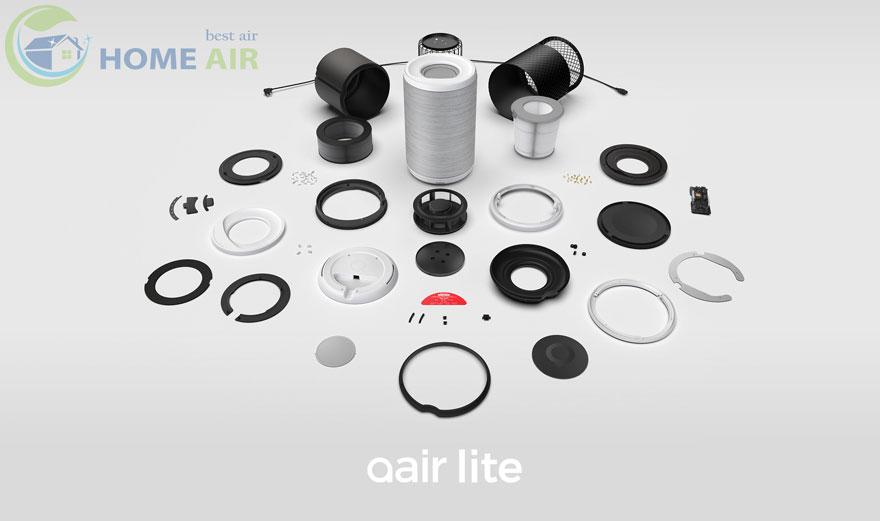Máy lọc không khí Aeris Aair Lite áp dụng công nghệ kháng khuẩn tiên tiến nhất
