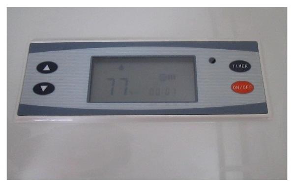 bang điều khiển máy hút ẩm công nghiệp aikyo