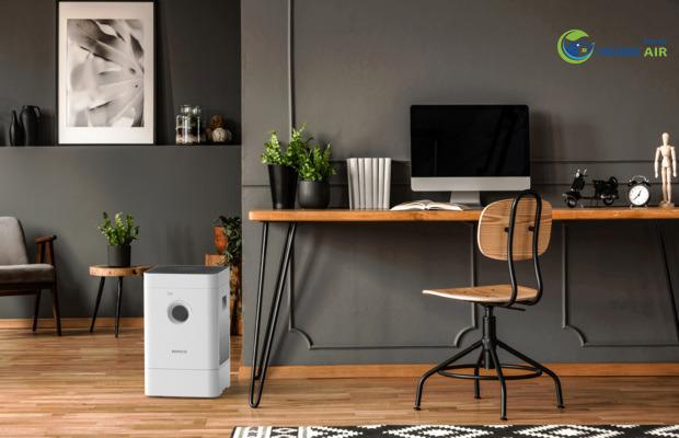 Máy lọc không khí kết hợp tạo độ ẩm Boneco Hybrid H300 là sản phẩm hoàn hảo bảo vệ sức khỏe gia đình tích hợp 2 tính năng: lọc không khí và tạo độ ẩm mang đến sự tiện nghi sang trọng!!!