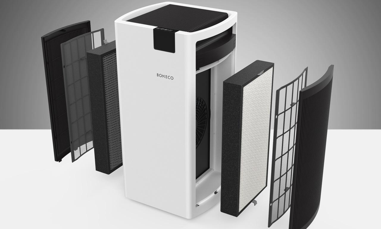 Đồng bộ sản phẩm máy lọc không khí P700 gồm có:
