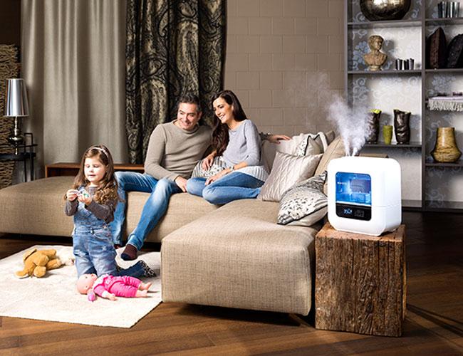 máy Boneco U700 tạo ra các hạt sương siêu mịn tốt cho sức khỏe đồng thời bảo quản đồ dùng gia đình tốt hơn (đồ da, đồ gỗ)