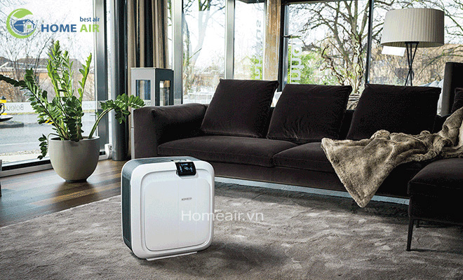 Máy tạo độ ẩm kết hợp lọc không khí Hybrid H680 Sản phẩm hoàn hảo dành cho các căn hộ và văn phòng làm việc