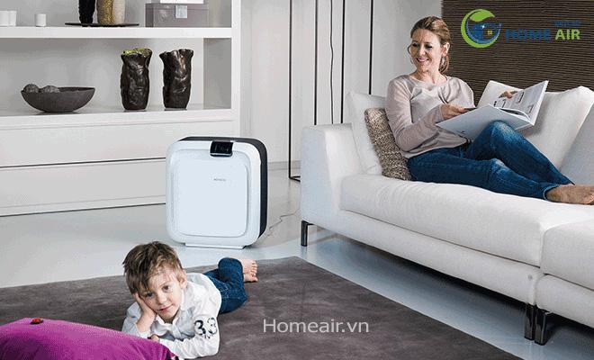Máy lọc không khí và tạo độ ẩm Boneco Hybrid H680 - Sản phẩm hoàn hảo dành cho các căn hộ và văn phòng làm việc