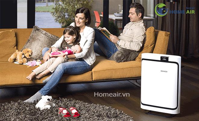 Máy lọc không khí P500 Ở nhà hoặc nơi làm việc, hãy hít thở bầu không khí trong sạch