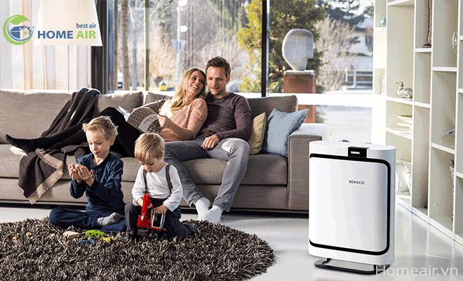 Máy lọc không khí P400 - Mang lại không khí sạch cho mọi căn phòng gia đình