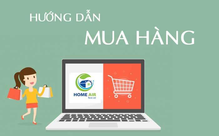 Hướng dẫn mua hàng tại Homeair.vn