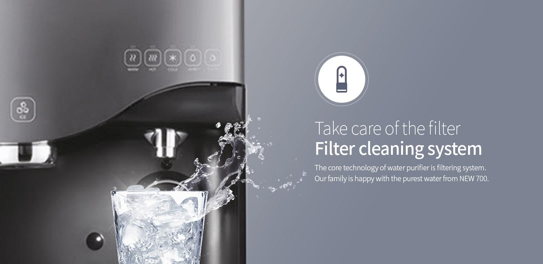 Chế độ tụ làm sạch cho nguồn nước tinh khiết nhất
