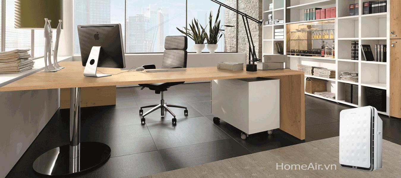 Diện tích phòng sử dụng lớn tới 100m2, sản phẩm phù hợp với phòng khách rộng, phòng họp, khu vực văn phòng, bệnh viện, trường học và quán cafe, nhà hàng