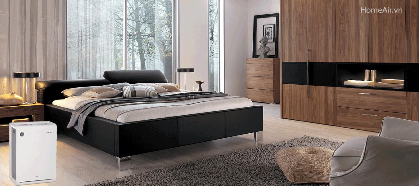 APM-1010DH làm sạch không khí hiệu quả và bổ sung cân bằng độ ẩm trong phòng