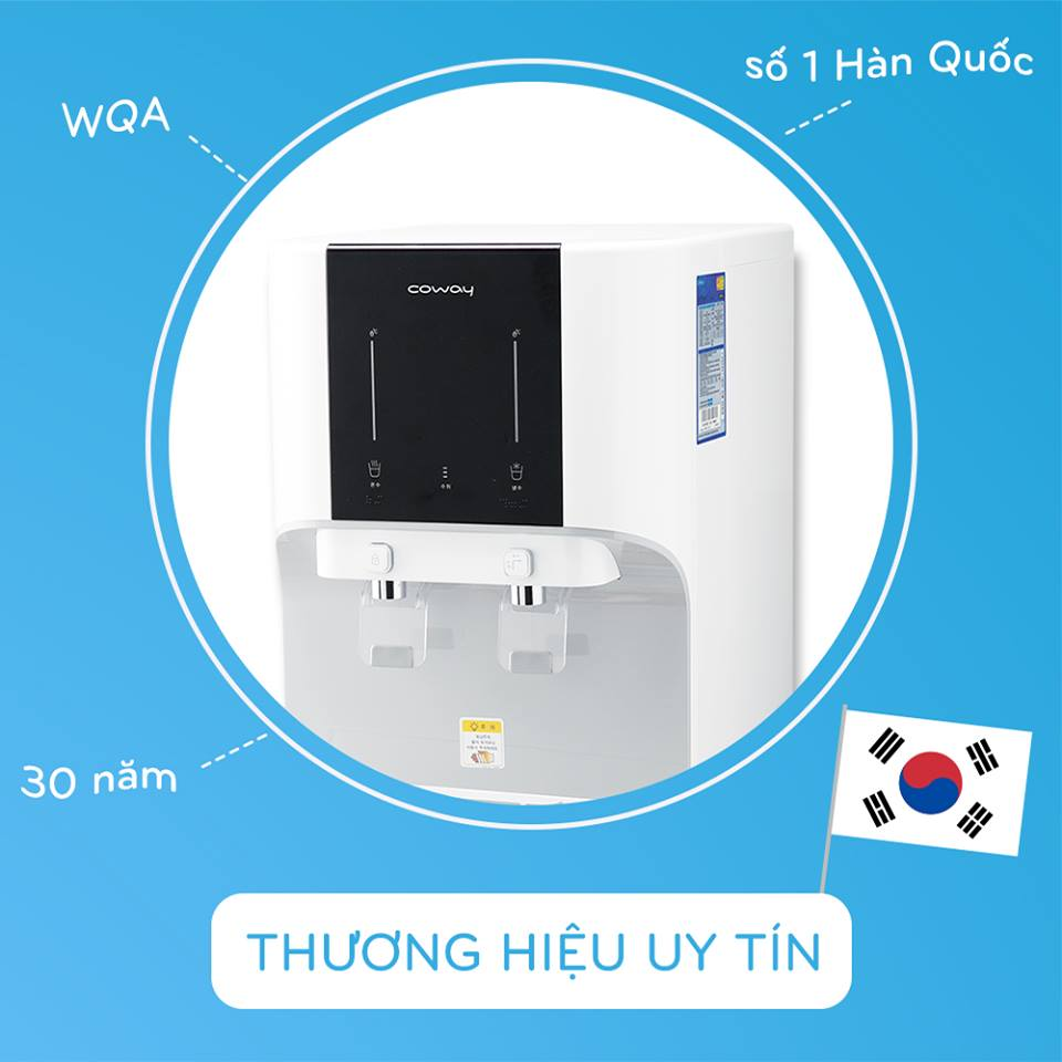 Máy lọc nước Coway thương hiệu số 1 Hàn Quốc