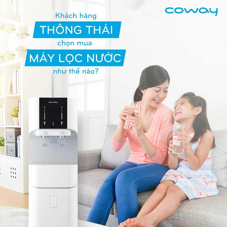Kinh nghiệm mua máy lọc nước Coway tốt nhất cho gia đình, văn phòng