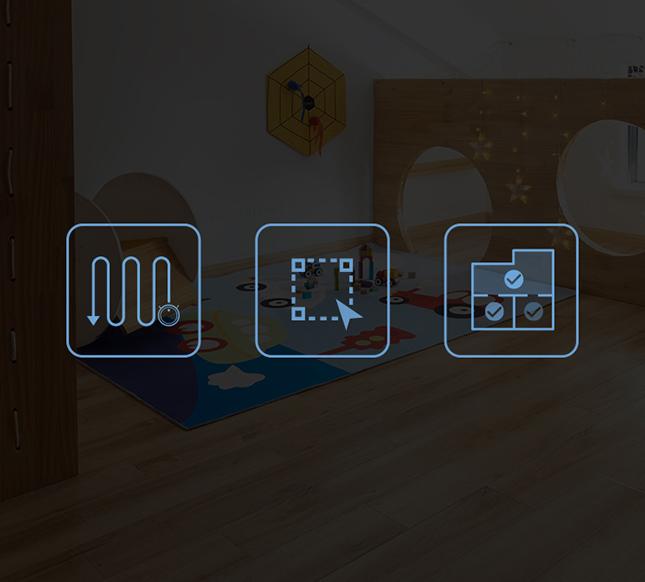 tùy chọn chế độ làm sạch của Deebot900