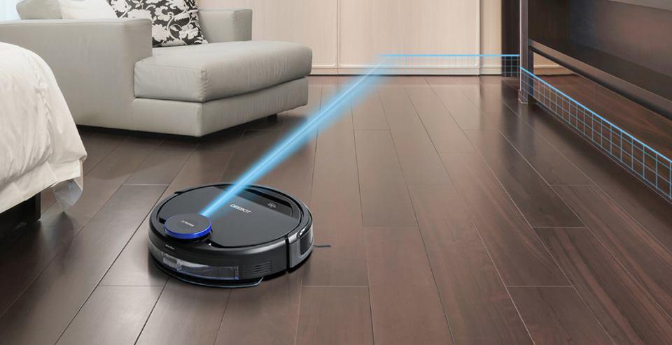 Thông minh hơn nhờ hệ thống quét laser Smart Navi của Ozmo930