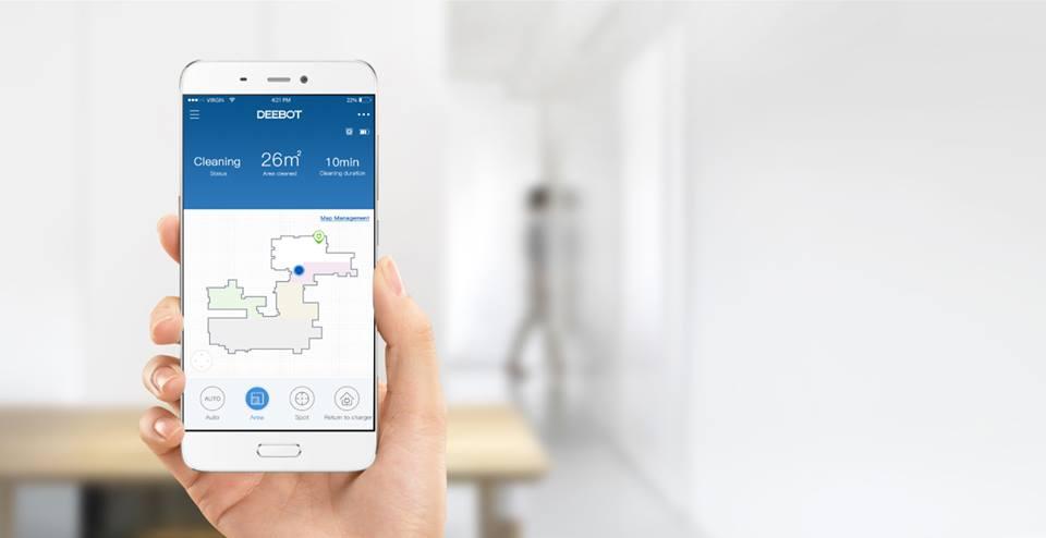Ecovacs App- nắm quyền kiểm soát trong tay