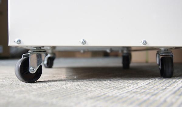 Thiết kế bánh xe di chuyển dễ dàng