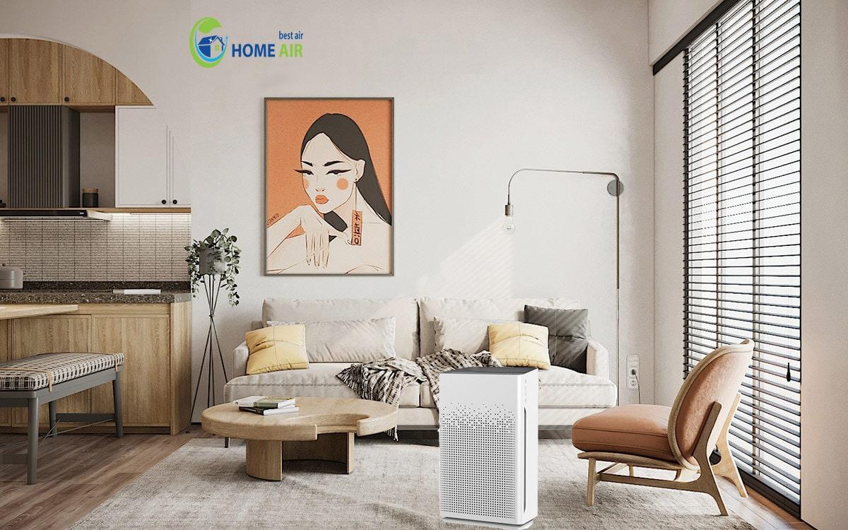 10 tác dụng của máy lọc không khí tốt cho hệ hô hấp