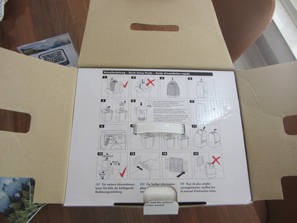 Cùng mở hộp máy tạo độ ẩm BONECO U650