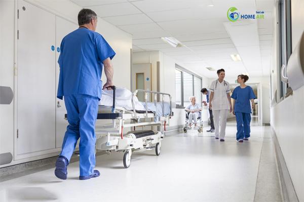 giải pháp lọc không khí cho bệnh viện, phòng khám