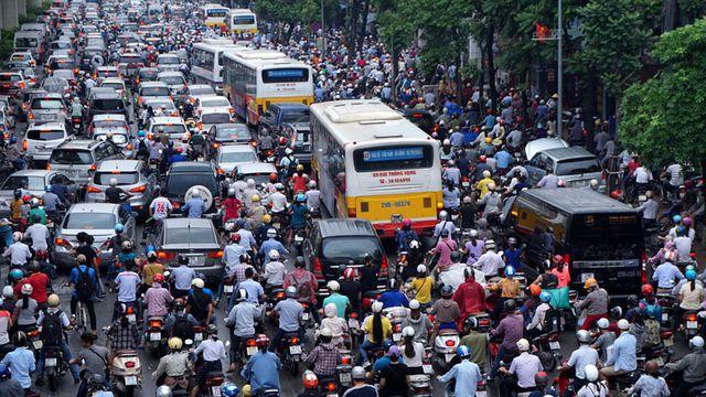 ô nhiễm không khí nghiêm trọng