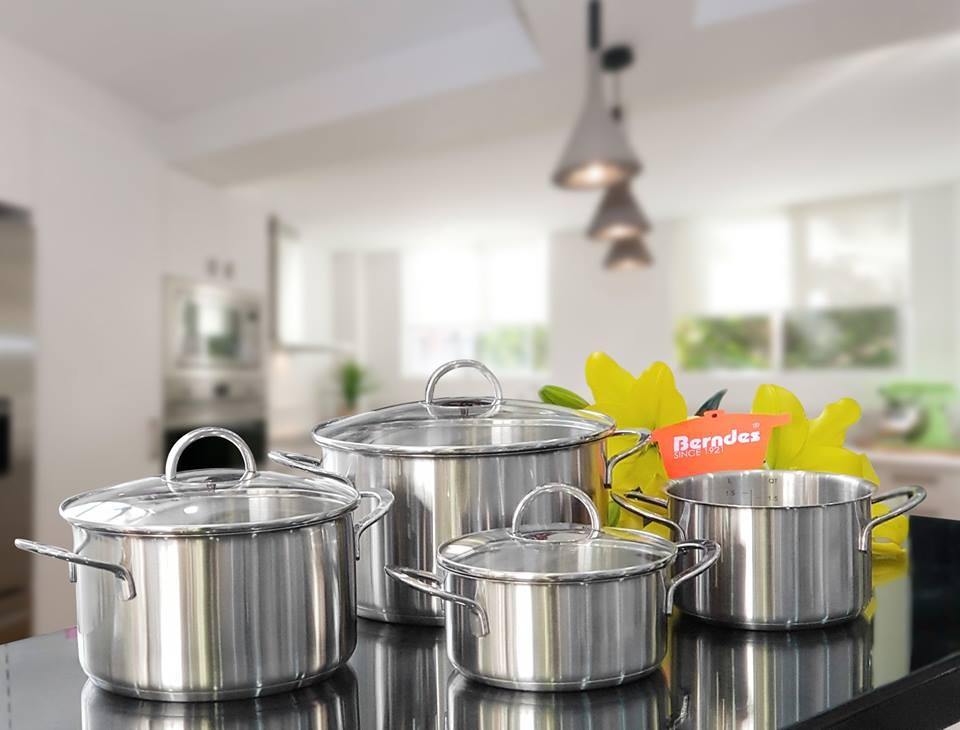 Bộ nồi bếp từ Berndes ROMA nhập khẩu Đức