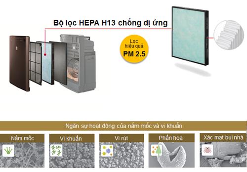 Bộ lọc HEPA chống dị ứng, lọc bụi hiệu quả