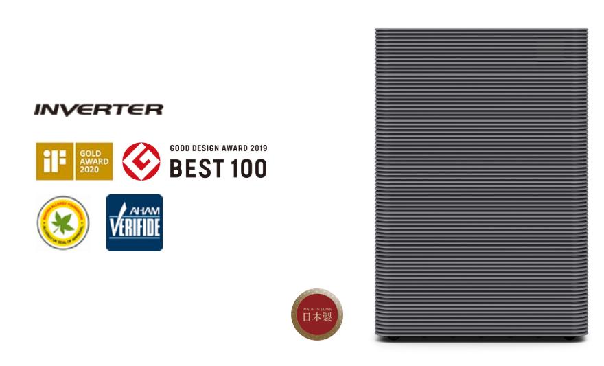 Chứng nhận và giải thưởng Máy lọc không khí Hitachi EP-PF120J đạt được