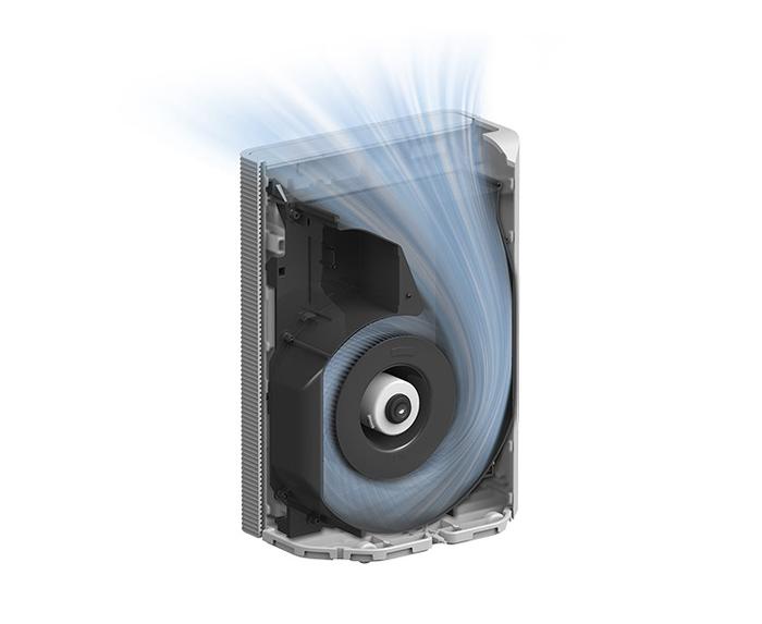 Công nghệ lọc khí mạnh mẽ của Hitachi EP-PF90J