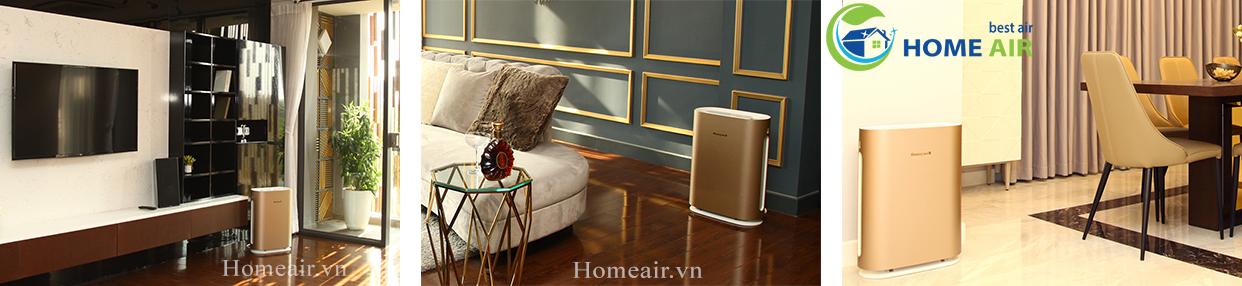 Máy lọc không khí Honeywell Air Touch Gold phù hợp với mọi không gian nội thất