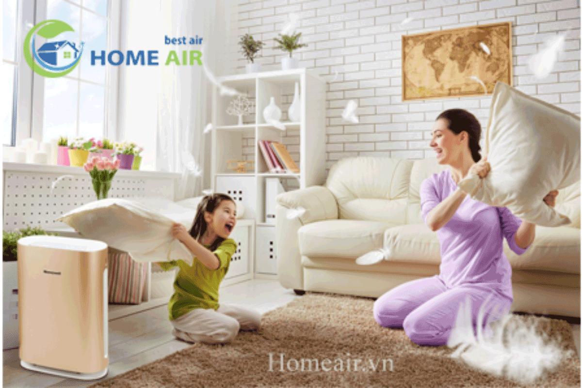 Máy lọc không khí Air Touch I8 sẽ tự động ngắt điện khi bạn tháo vỏ máy hoặc do máy bị nghiêng, va chạm