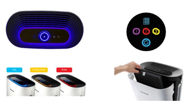 Các tính năng ưu việt khác của Air Touch P