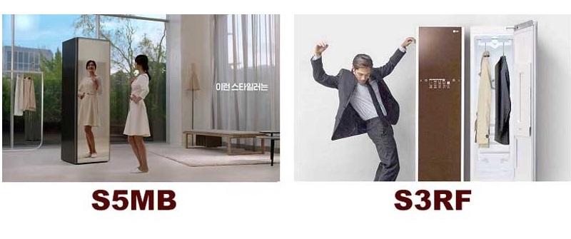So sánh máy giặt hấp sấy LG Styler S5MB và S3RF - loại nào tốt nhất?