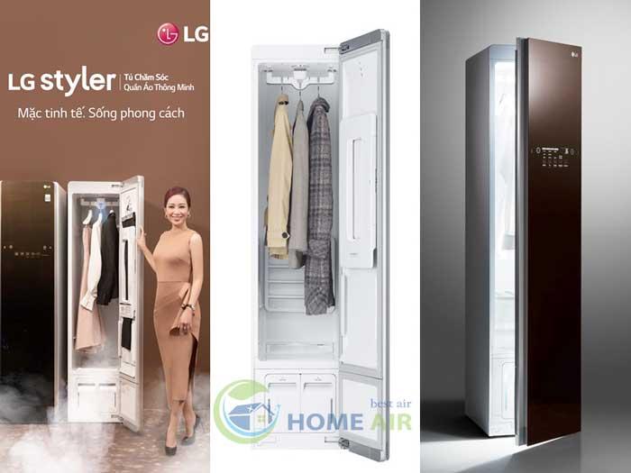 Tư vấn: Nên chọn mua máy giặt hấp sấy LG Styler nào?