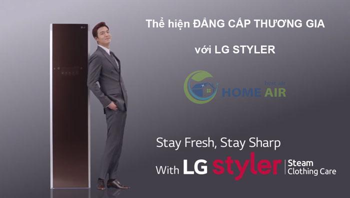 Giải đáp tất tần tật về tủ chăm sóc quần áo thông minh LG Styler S3RF