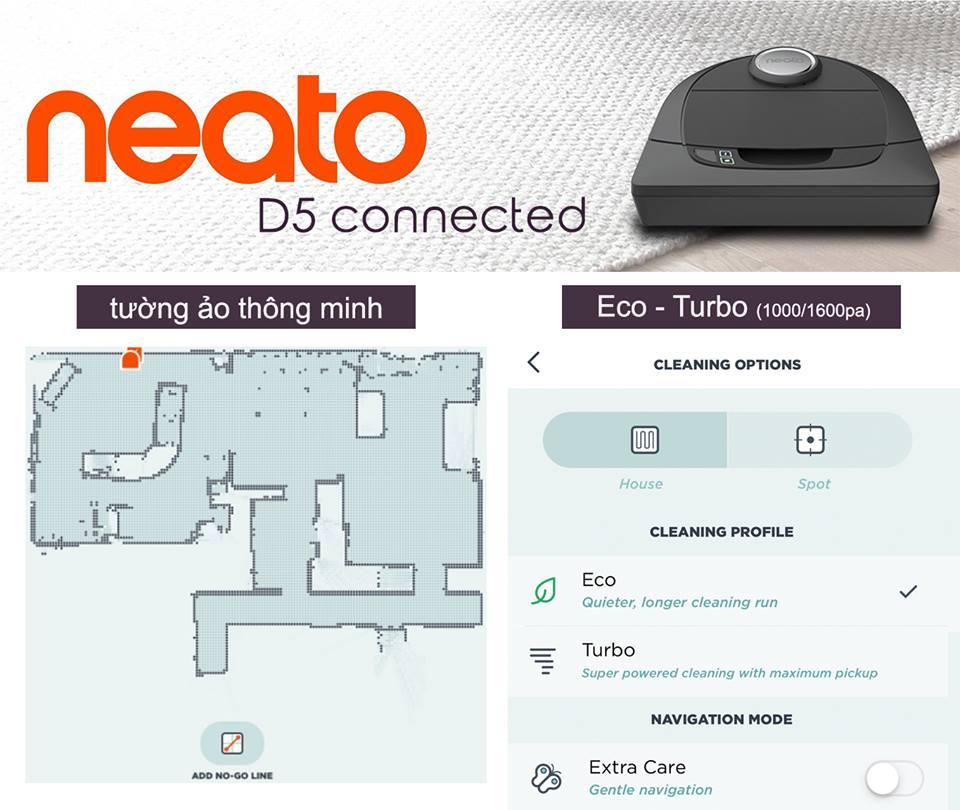 Với bản cập nhật phần mềm MỚI NHẤT, Botvac D5 Connected sẽ có thêm 2 tính năng mới 😍😍😍