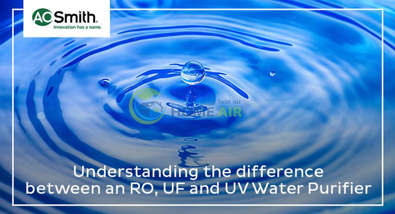Bình lọc nước AO Smith sử dụng công nghệ lọc nước nào: RO, UV hay UF?