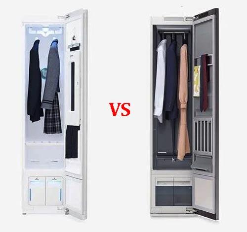 Tủ giặt khô LG Styler hay tủ giặt khô Samsung AirDresser: Bạn sẽ chọn mua cái nào?