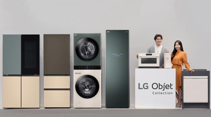 Thời đại toàn cầu của sứ giả LG Object Collection cho thiết bị gia dụng đồng bộ