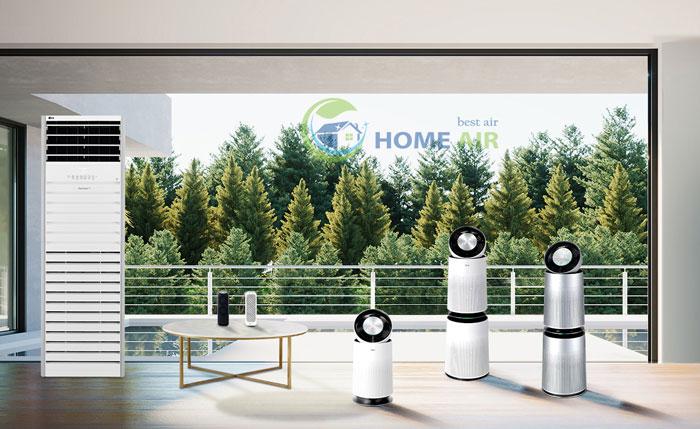 LG hoàn thiện dòng máy lọc không khí LG PuriCare cho mọi không gian