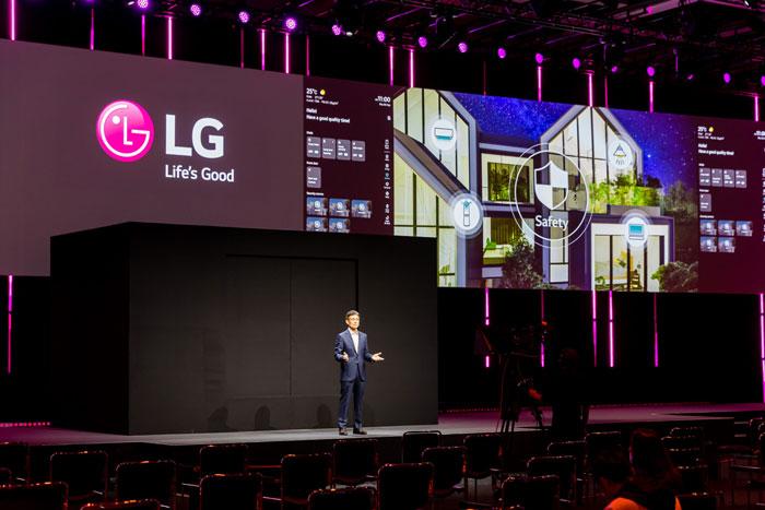 """LG ThinQ mở ra một tầm nhìn mới cho """"Life's Good from Home"""" trong tương lai"""