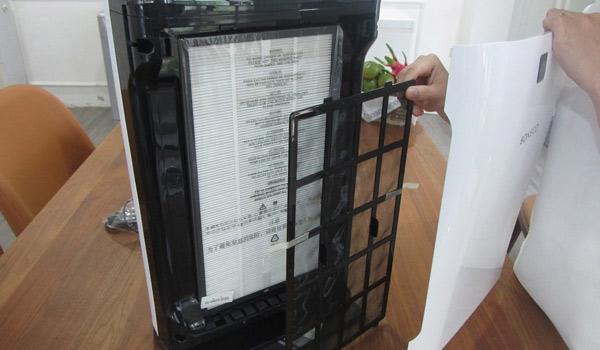 Hướng dẫn cách vệ sinh máy lọc không khí Boneco