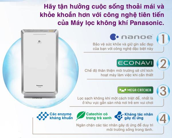 Hãy tận hưởng không khí trong lành hơn với công nghệ tiên tiến của máy lọc không khí Panasonic từ hôm nay!