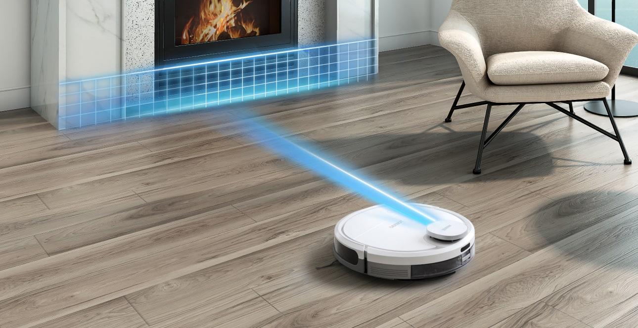 Thông minh nhờ hệ thống quét Laser Smart Navi