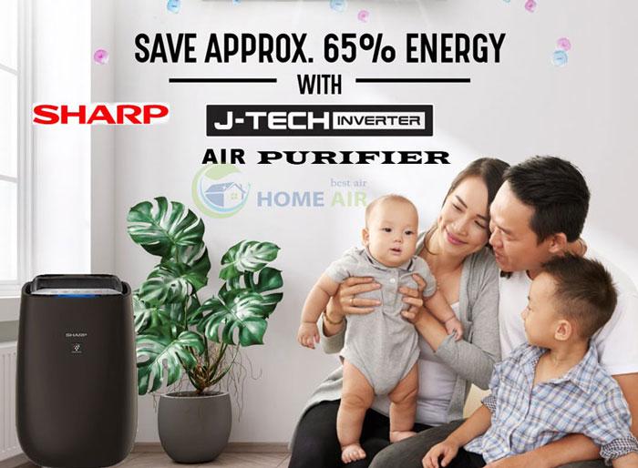 Review, đánh giá máy lọc không khí Sharp FP-J50V-H có tốt không?