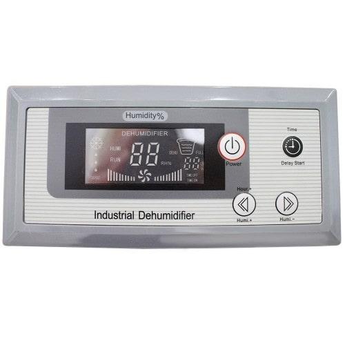 bảng điều khiển của máy hút ẩm ID-3000S